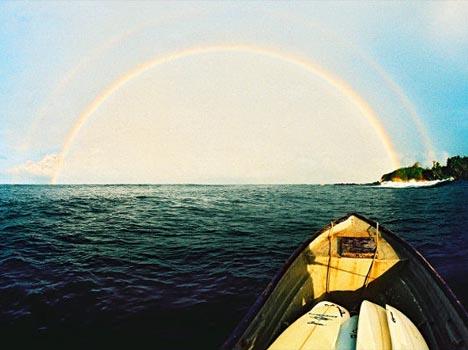 Rainbow at Silva