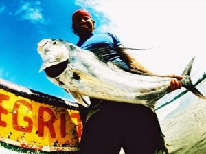 Nice Rooster fish cought off of El Toro