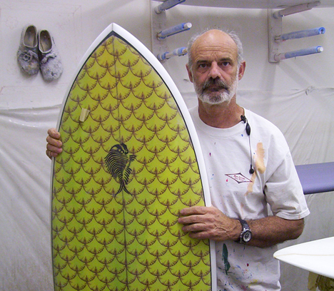 Southern california surfboard shaper michael zippi of for Best fish surfboard