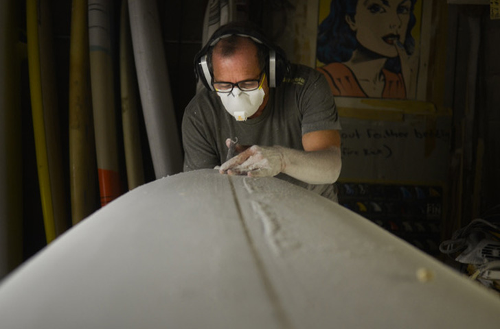 Southern California Surfboard Shaper Jose Barahona of Barahona